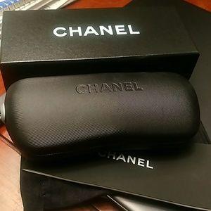 Chanel Pearl CC black sunglasses 5083-H